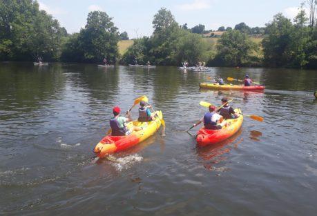 Anjou Sport Nature Daon Nautique unique en Mayenne Kayak en famille