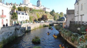 Anjou Sport Nature Segré Canoë Kayak Anjou Oudon
