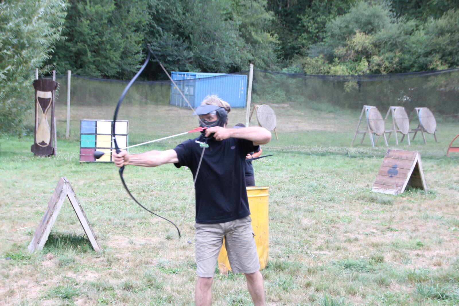 Anjou Sport Nature fun archery à la jaille yvon