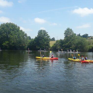 Anjou sport nature Evason fluviale La Jaille-Yvon Navigation sport Mayenne Slow Tourisme Activités nautiques