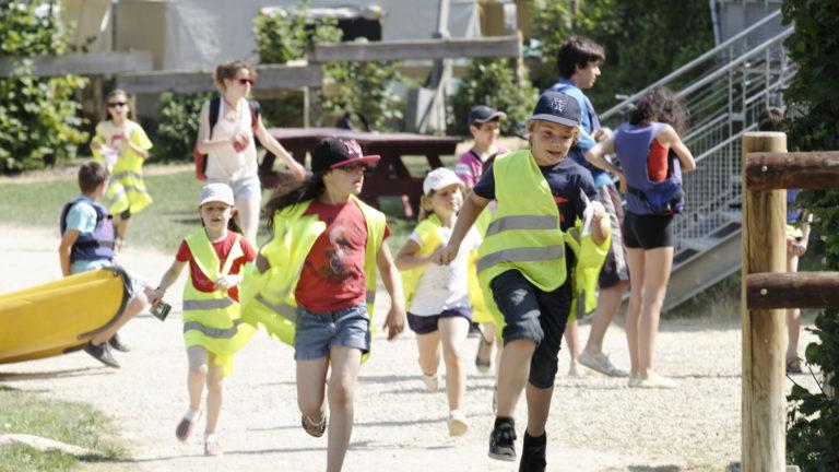 Anjou sport nature La Jaille-Yvon Activités sportives Course d'orientation Groupes scolaires