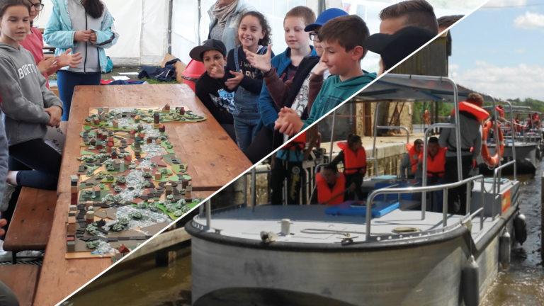 Anjou sport nature journée navigation et decouverte de l'environnement en mayenne