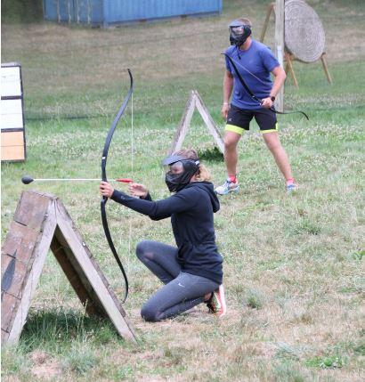 Anjou sport nature la jaille-yvon Groupes Fun archery Activités Pleines natures Mayenne