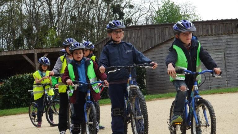 anjou sport nature vélo pour les enfants dans les écoles