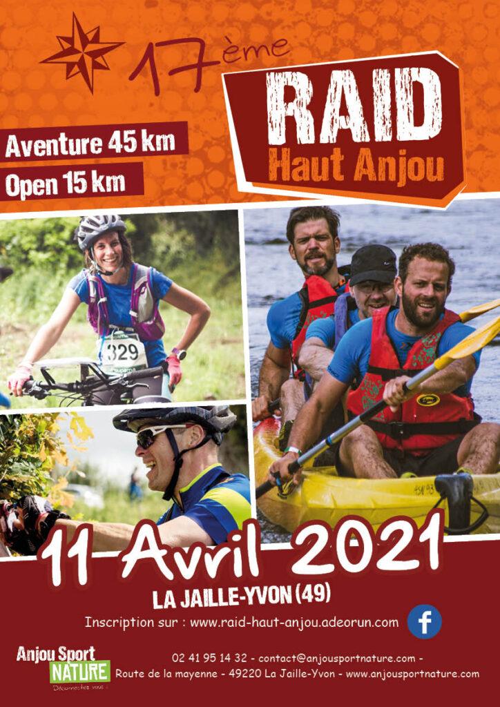 Flyer Raid Haut Anjou 2021