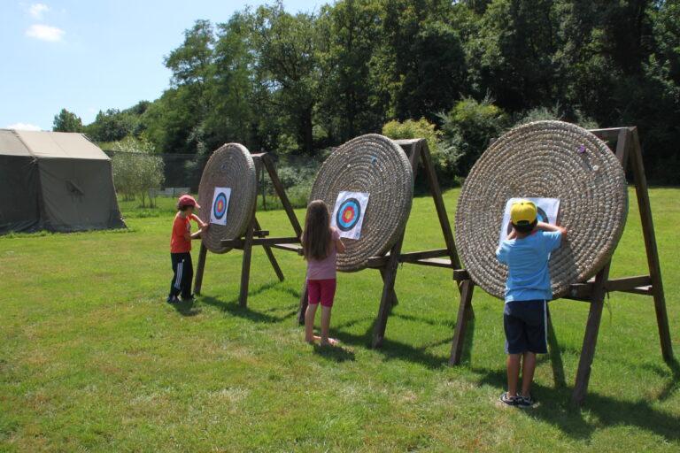 anjou sport nature tir à l'arc séjours des petits
