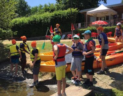 Kid' ado adulte maine et loire centre de loisirs kayak
