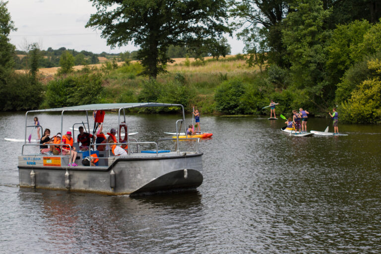 Anjou sport nature Evasion fluviale Mini péniche Activités nautiques Slow Tourisme Mayenne Unique Anjou