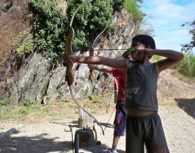 anjou sport nature à la jaille yvon tir à l'arc