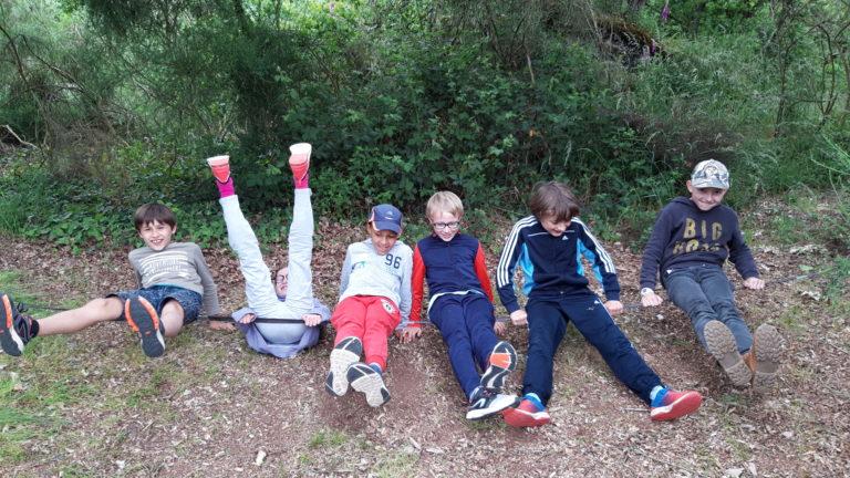 anjou sport nature camp d'été pour les enfants