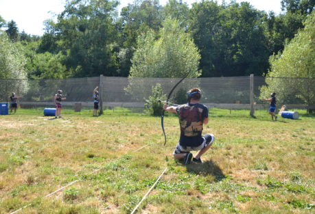 anjou sport nature fun archery a la jaille yvon