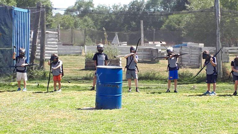 anjou sport nature fun archery groupe scolaire