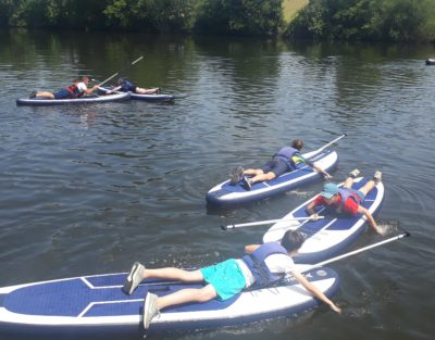 anjou sport nature la jaille yvon stand up paddle groupe scolaires
