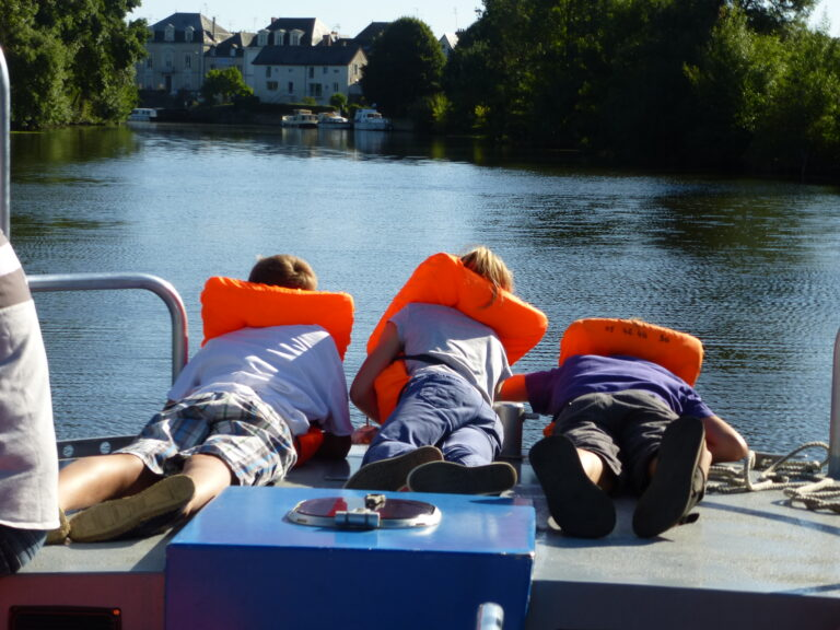 anjou sport nature mini peniche bateau ecole en anjou