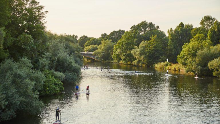 anjou sport nature stand up paddle en mayenne